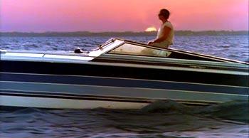 Miami Vice go fast boat