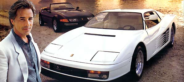 Cars of Miami Vice