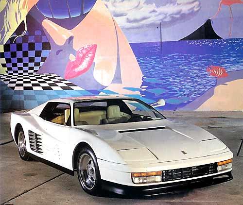 Miami Vice Ferrari