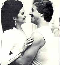 Don Johnson, Saundra Santiago