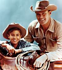Johnny Crawford in the Rifleman