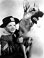 Lee Aaker in Rin Tin Tin