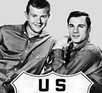 Martin Milner and George Maharis in Route 66