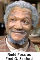 Redd Foxx starred in the 1970s series Sanford and Sons