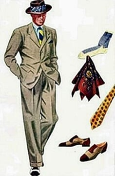 1950s men's clothing