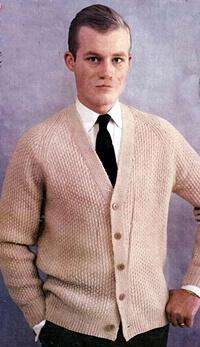 50's men's casual fashion