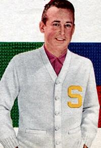 1950s preppie fashion look
