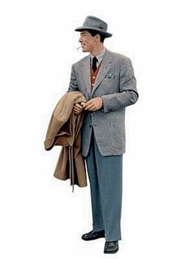 1950s men's workplace fashion