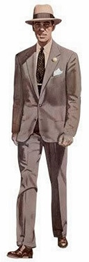 men's fashion suit