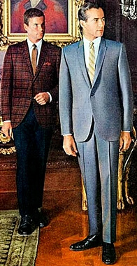 mens fashion in the 60s
