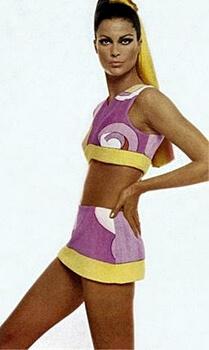 1960s designer fashions