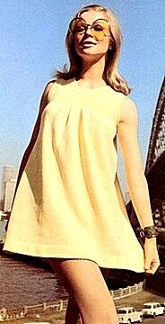 Mary Quant fashions 1960s