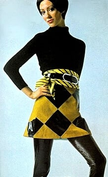 1960s Fashion Mini Skirt And Dresses
