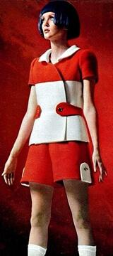 mini skirts and dresses 1960s