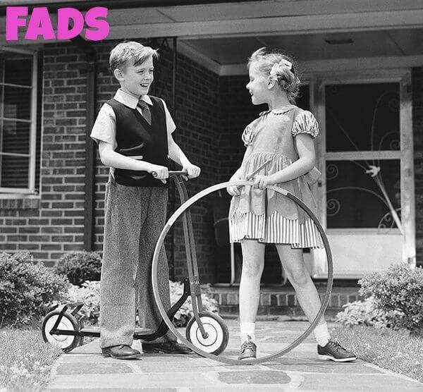 1950s fads