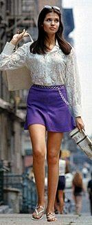 60s mod miniskirt