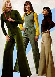 bell bottoms in the 1960s