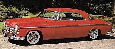 Car Paint Job Cost >> 1950s Cars - Chrysler 1955-59 | Fifties Web