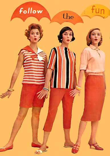 1950s Clothes Gallery A Picture Album Of 50 S Fashions