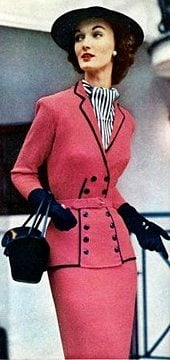 1950s women's suits and coats