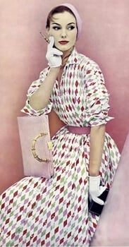 50s fashion casual dress