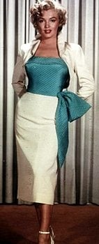 Marilyn Monroe ina 50s skirt