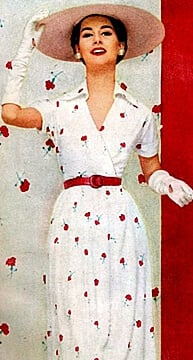 women's dresses from the 1950's