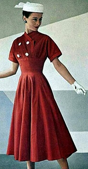 1950s Fashions - Women's Dresses