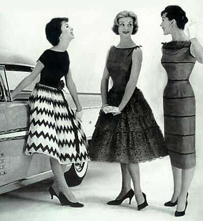 Trends of the Mid 1960s  Vintage Fashion Guild  History