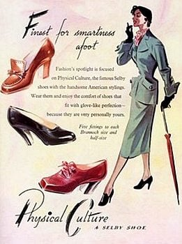 1950s style shoes