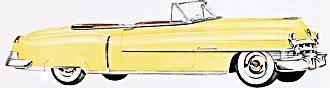 1950s Cars - Cadillac 1950-54