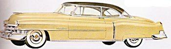 1950s cars cadillac 1950 54 fifties web. Black Bedroom Furniture Sets. Home Design Ideas