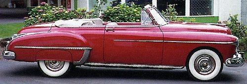 1950s classic Oldsmobiles