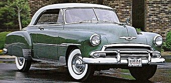 1950s Cars Chevrolet 1950 54 Fifties Web