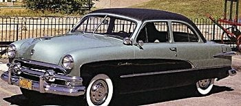 1951 Ford Crestliner Tudor & 1950s Cars - Ford markmcfarlin.com