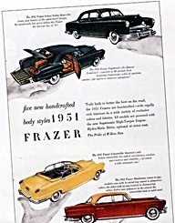 1950s Cars - Kaiser-Frazer  automobile
