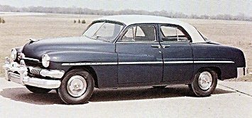 1951 Mercury car
