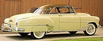 1950s Cars - Chevrolet 1950-54 | Fifties Web