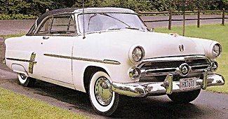 1952 Ford Victoria Mainline & 1950s Cars - Ford markmcfarlin.com