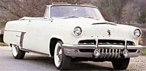 1952 Mercury car