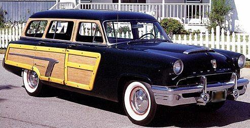1950s classic autos