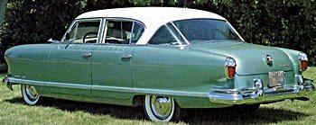 1950s Cars - Nash ambassador