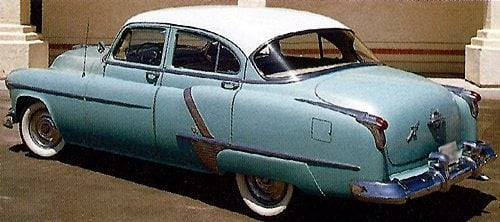 Pontiac Chiefton Xtra on Custom 1950s Ford Convertible