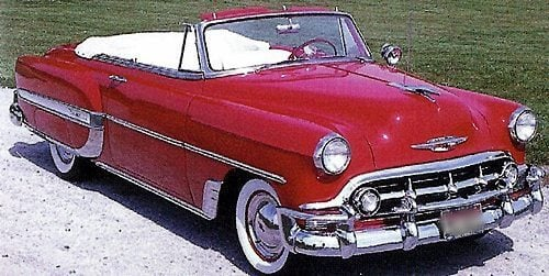 1950s Cars - Chevrolet - Picture Gallery