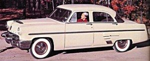 1953 Mercury car