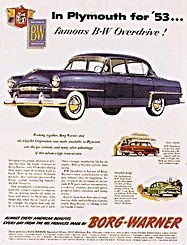 11950s cars - advertisement