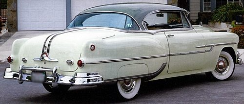 1953 Pontiac Chieftain Eight Custom