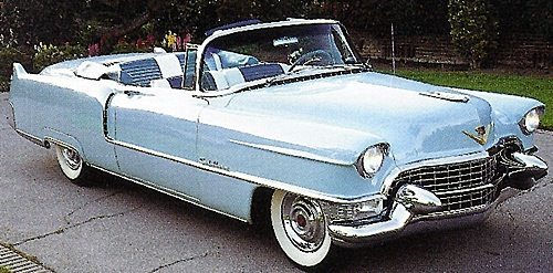1955 Cadillac Series 62 Convertible