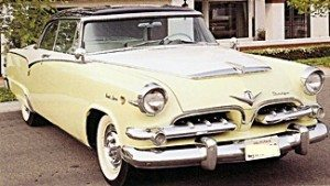 1955 Dodge Royal cars