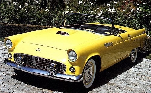 1955 Ford Thunderbird (T-Bird) & 1950s Cars - Ford - Photo Gallery markmcfarlin.com